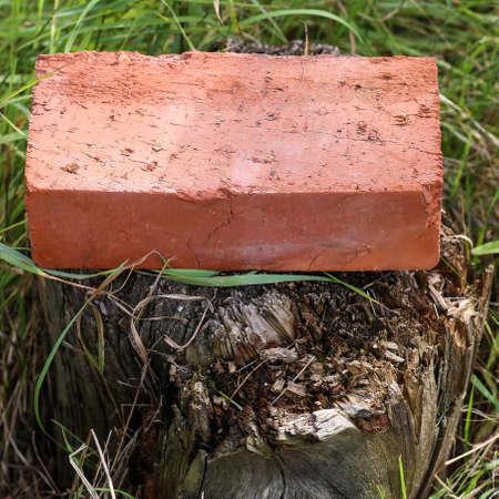 clay brick.