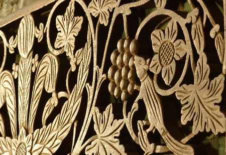 intricate wood carving Stock Photo - 2773320