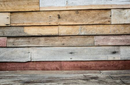 Wood floor texture background vintage Stock Photo