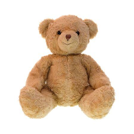 Teddy bear isolated on white background. Stockfoto