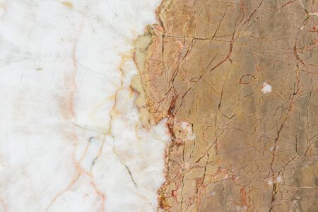 Marble texture, detailed structure of marble in natural pattern for background and design. Stock Photo - 132002451