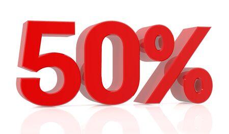 fifty percent 3D rendering