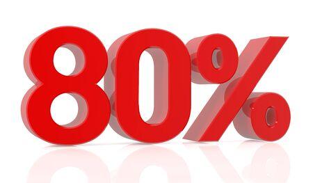 eighty percent 3D rendering