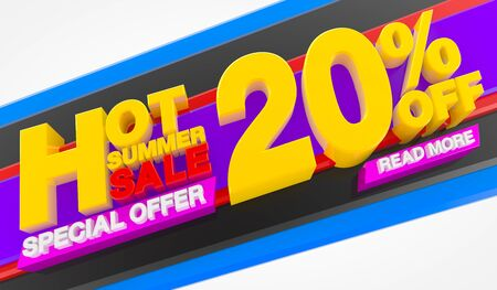 HOT SUMMER SALE 20 % OFF SPECIAL OFFER READ MORE 3d rendering