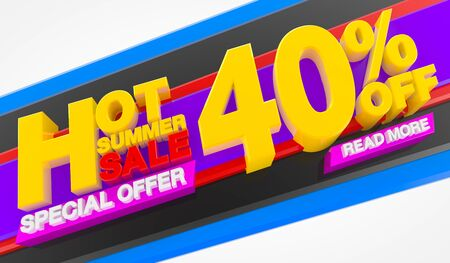 HOT SUMMER SALE 40 % OFF SPECIAL OFFER READ MORE 3d rendering