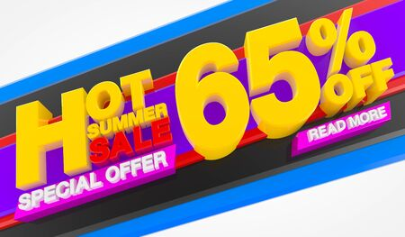 HOT SUMMER SALE 65 % OFF SPECIAL OFFER READ MORE 3d rendering