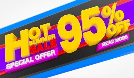 HOT SUMMER SALE 95 % OFF SPECIAL OFFER READ MORE 3d rendering Stok Fotoğraf