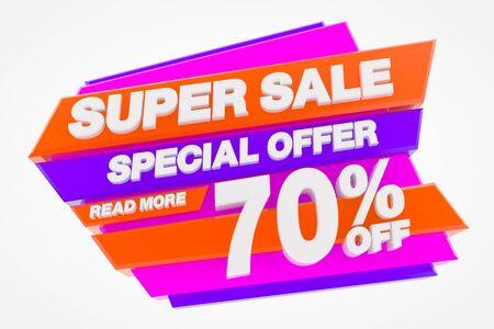 SUPER SALE SPECIAL OFFER 70 % READ MORE 3d rendering Stok Fotoğraf