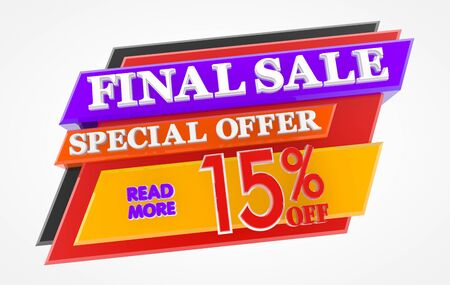 FINAL SALE SPECIAL OFFER 15 % OFF READ MORE 3d rendering