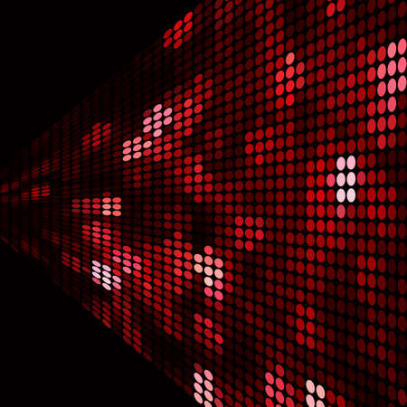 sparkling: Sparkling red dots background. Abstract vector backdrop.