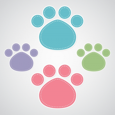 hounds: paw prints