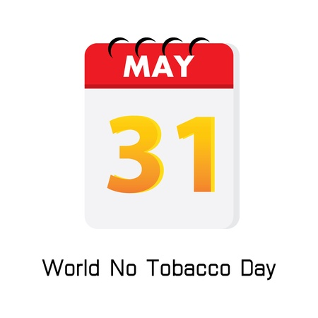 31: calender 31 may world no tobacco day