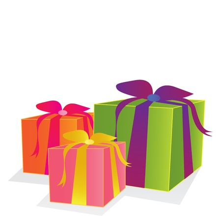 vector gift box Stock Vector - 20110064
