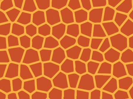 skin giraffe Vector