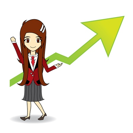 dax: boom stock market cheers Illustration