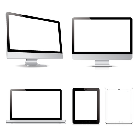 vector pack computer tablet electronic devices Vector
