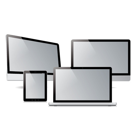 pack computer tablet electronic devices Stock Vector - 20220325