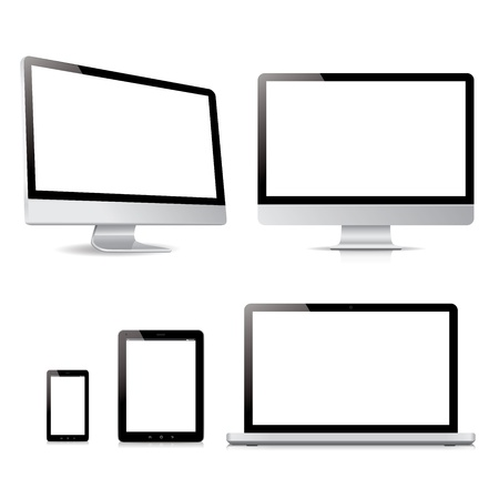 vector pack ultimate computer tablet electronic devices Stock Vector - 20220341