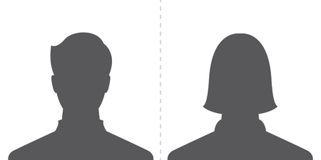 nude male: male and female profile picture