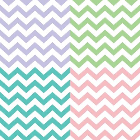 popular zigzag chevron pattern
