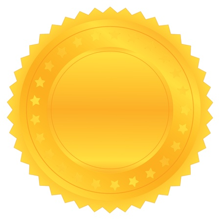 signatory: vector gold seal