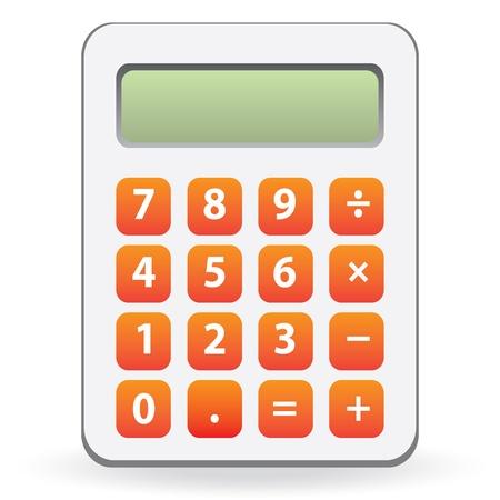 calculator isolated Stock Vector - 20400538
