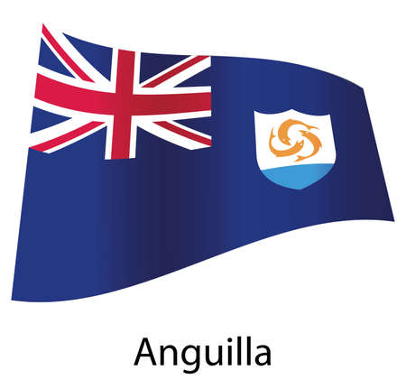 vector anguilla flag isolated Stock Vector - 20583248