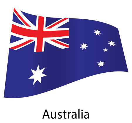 vector australia flag isolated Vector
