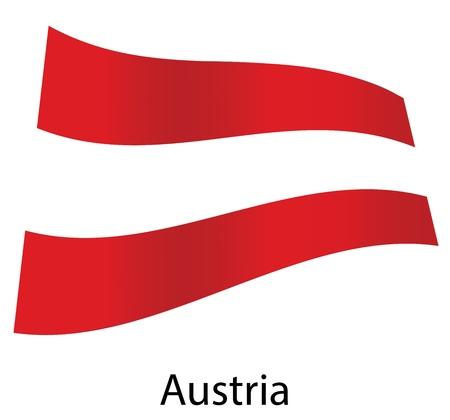 vector austria flag isolated Stock Vector - 20583219