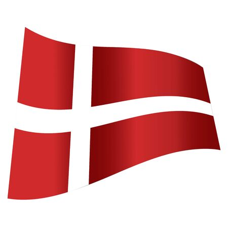 vector denmark flag Vector