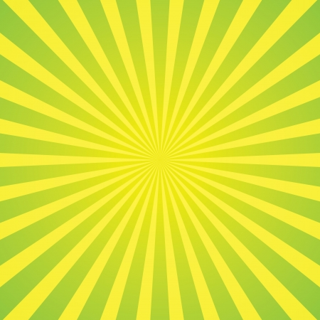 light green rays background
