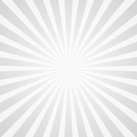 witte stralen achtergrond Stock Illustratie