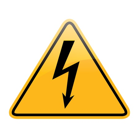 vector high voltage Stock Vector - 20583308