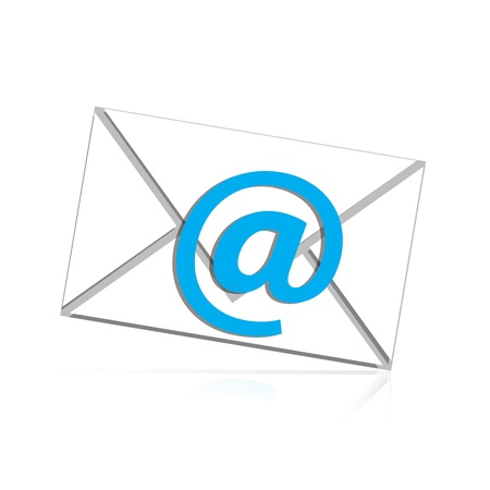 mail isolated Stock Vector - 20888144