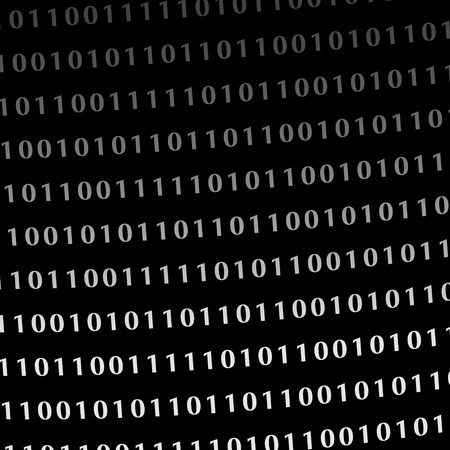 bytes: binary computer language monitor digits