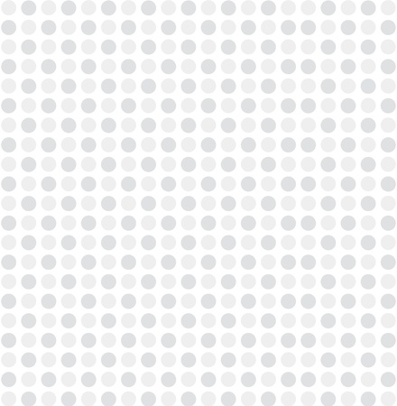 white gray dot pattern background vector Vector
