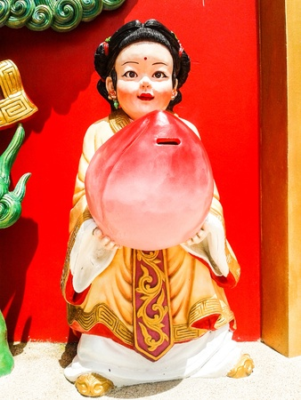 big china doll, chachoengsao in thailand photo