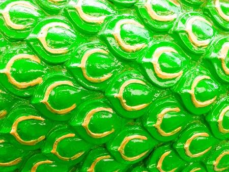 green dragon scales Stock Photo - 21576541
