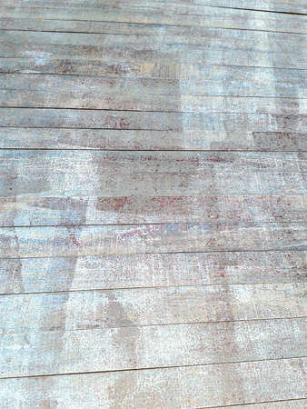 blue wood floor pattern photo
