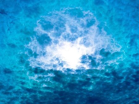 cloudy storm unusual sky photo