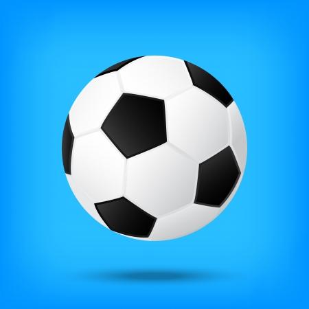 Beste voetbal illusie geïsoleerde achtergrond Stockfoto - 21759692
