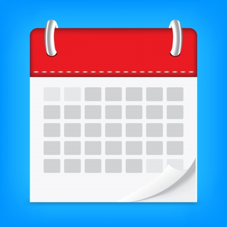 icon calendar isolated background 向量圖像