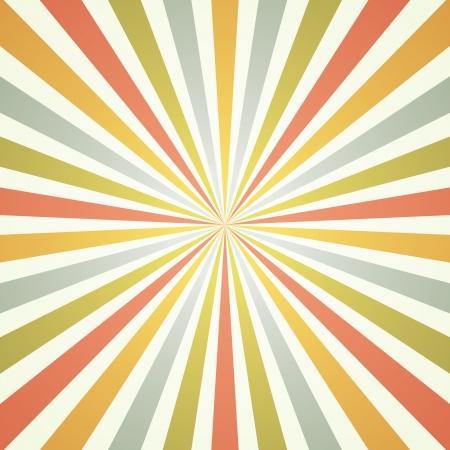 vintage rays background Illustration