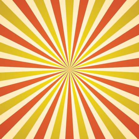 vintage rays background Vector