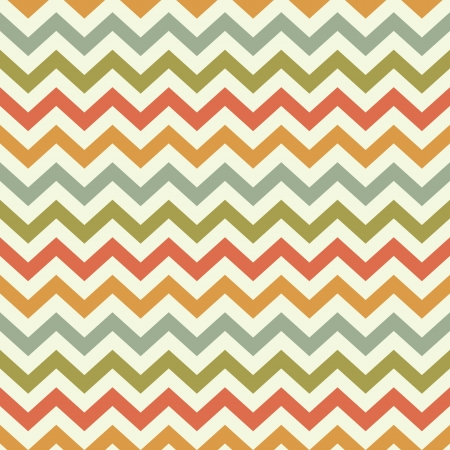 vintage popular zigzag chevron pattern Stock Vector - 21759785