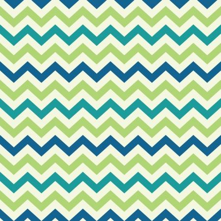 rayas de colores: populares patr�n de zigzag del gal�n del vintage