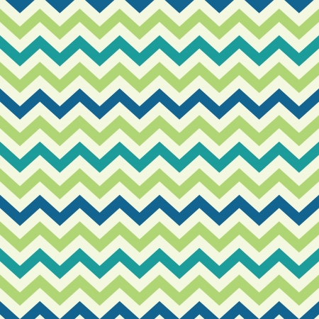 stripes: vintage popular zigzag chevron pattern