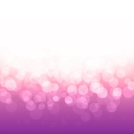 populaire bokeh roze paarse feestelijke lichten en sterren