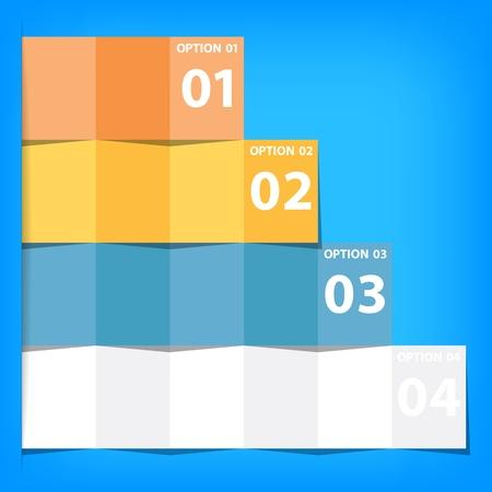 popolare moderna piazze presentazione aziendale infografica sfondo isolato Vettoriali