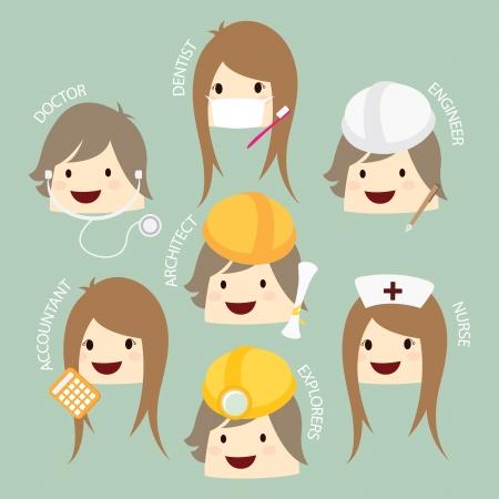 popular job  asean economics community, AEC cartoon